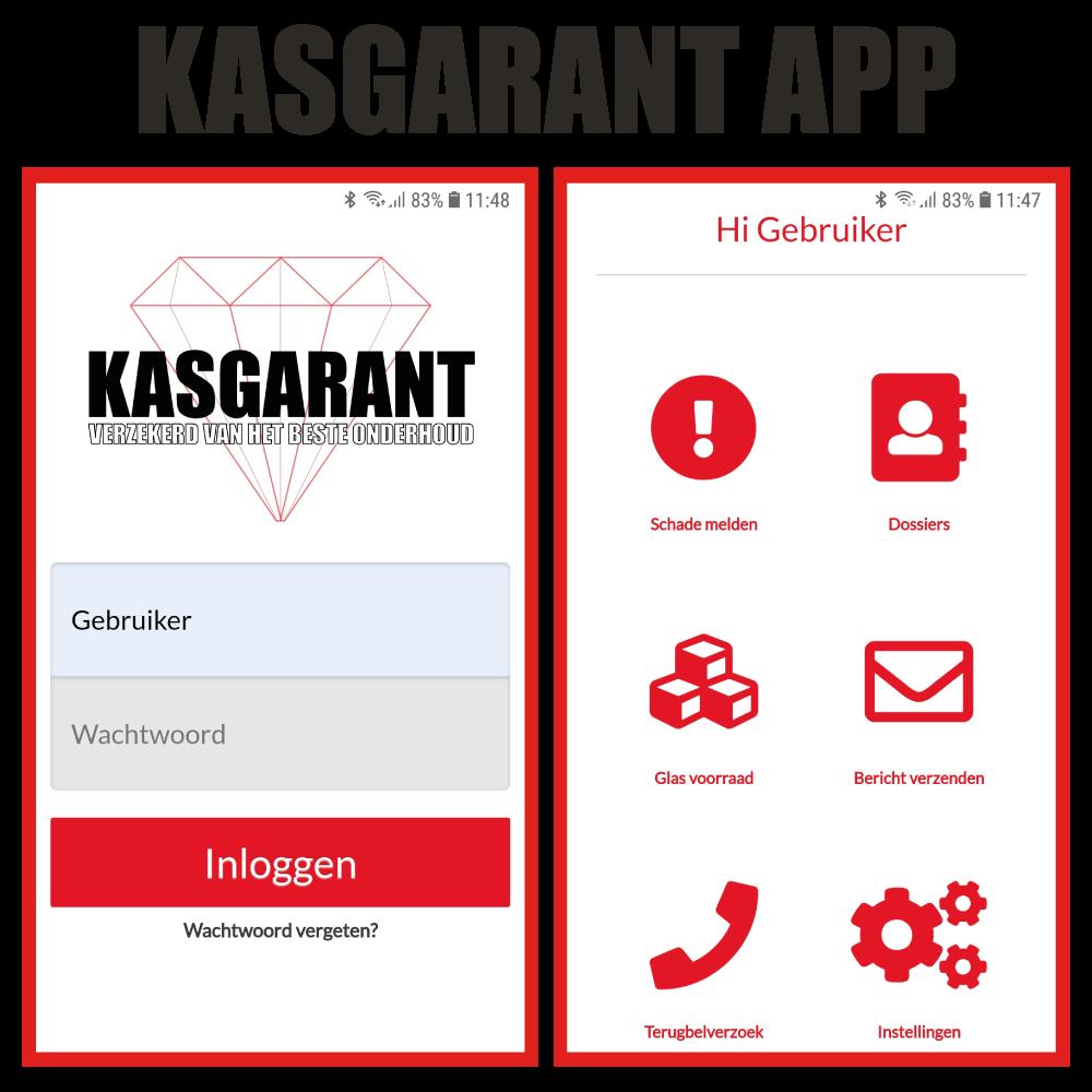 Westland Kasonderhoud - Kasgarant app